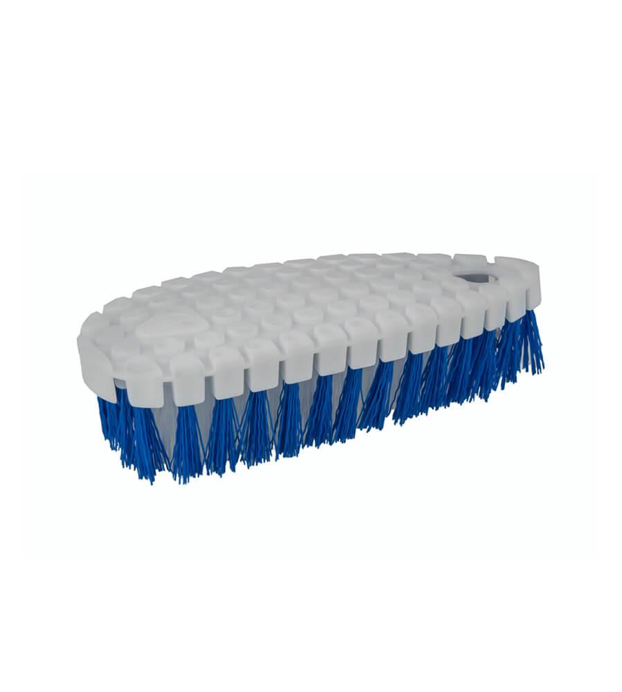 Szczotka do mycia i szorowania z niebieskim włosiem